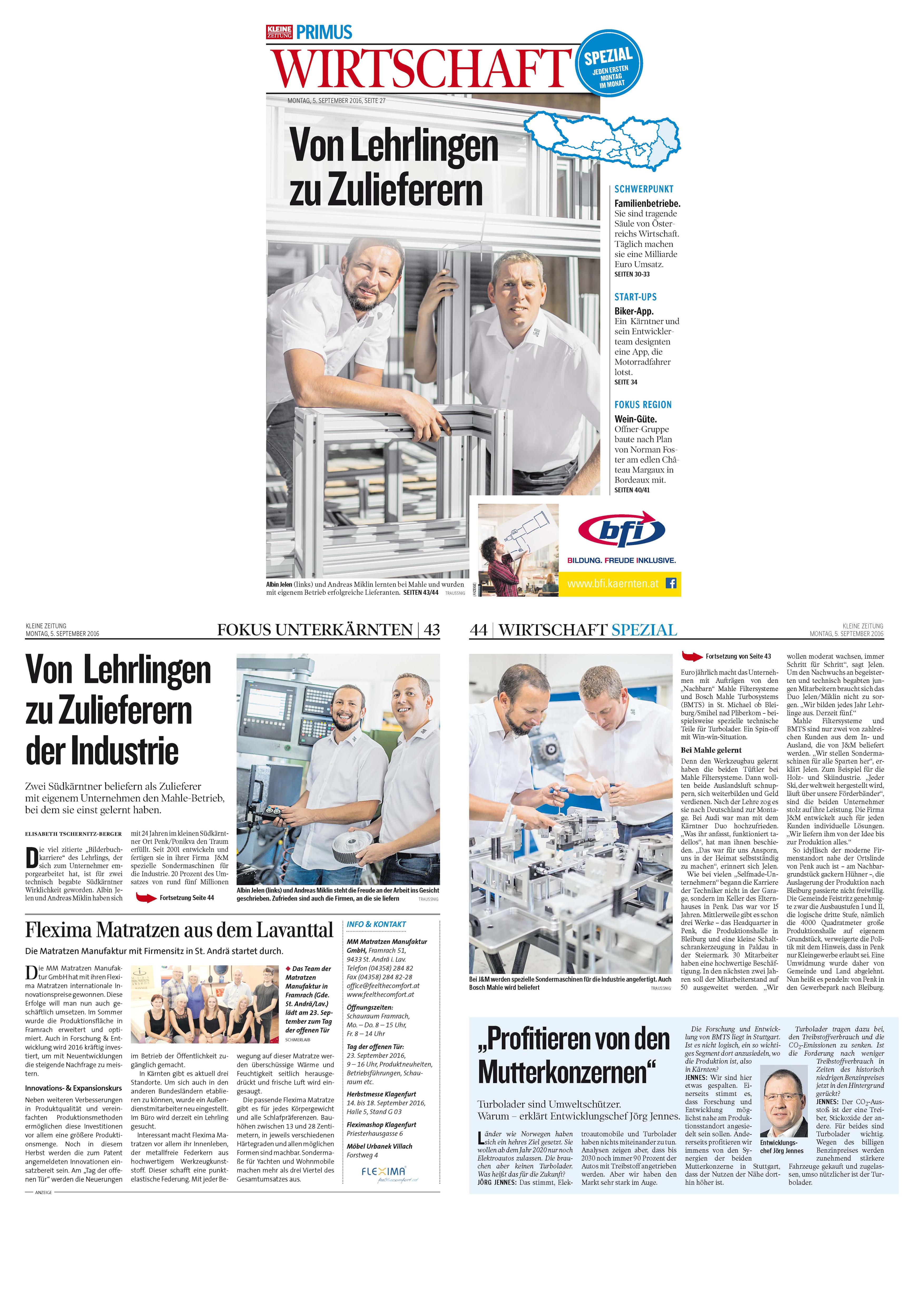Berichte Jm Maschinenbau Bleiburg